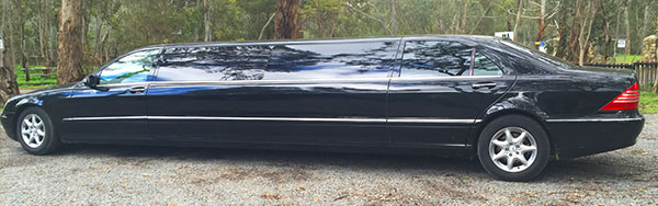 Black Stretch Mercedes Limo